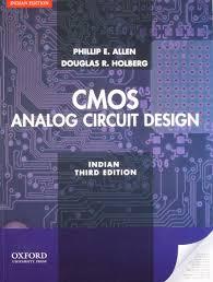 Cmos Analog Circuit Design Allen Holberg 2nd Edition Cmos Analog Circuit Design Edn 3 By Douglas R Holberg