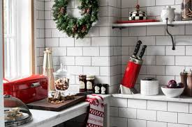 Christmas Kitchen How To Style A Practical Christmas Kitchen The Luxpad