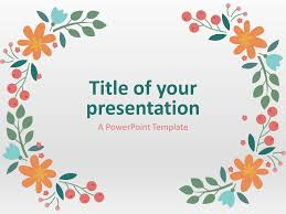 Spring Powerpoint Background Spring Powerpoint Template Powerpoint Design