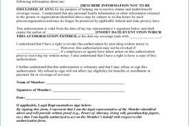 Hipaa Authorization Form Custom Lovely Authorization To Release Employment Information Template Free