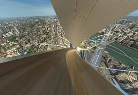 slide down london s tallest skyser why not london s view from the shard
