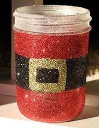 Decorated Jam Jars For Christmas 100 Quick And Cheap Mason Jar Crafts Filled With Holiday Spirit 11