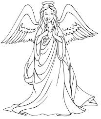 Free Printable Angel Coloring Pages For Kids Angels To Color