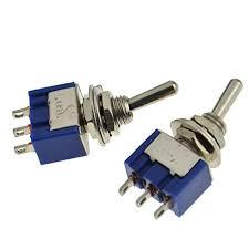 2pcs blue electric 2 position toggle switch spdt ac 125v 6a tga2 2pcs blue electric 2 position toggle switch spdt ac 125v 6a tga2 >>> read