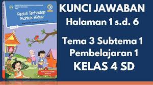 Benda di sekitarmu ini pada bagian sub tema 3: Kunci Jawaban Tematik Kelas 4 Sd Tema 3 Subtema 1 Pembelajaran 1 Halaman 2 3 4 5 Dan 6 Youtube