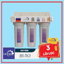 Máy Lọc Nước Nano Geyser TK3 - 3 Lõi Lọc| Lọc Sạch Uống Tại Vòi