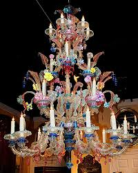elaborate murano chandelier sold on ru lane murano chandelier vintage