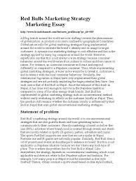 red bulls marketing strategy marketing essay marketing brand