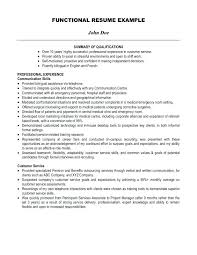 Example Summary Resume Example Of Resume Summary What To Write In