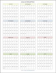 Printable School Year Calendars Mailbag Monday More Academic Calendars 2019 2020