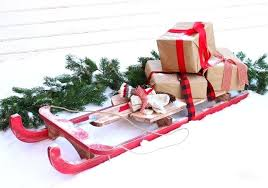 how to build a vintage sled wooden old sledge image