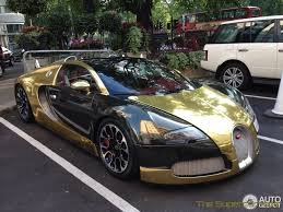 The Supercar Kids Golden Bugatti Veyron Grand Sport Hits London