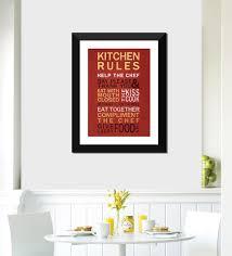 multicolour paper kitchen rules