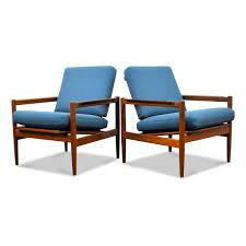 teak lounge chairs by børge jensen sønner for bernstoffsminde møbelfabrik set of 2