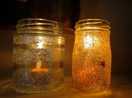 Decorated Jam Jars For Christmas Homemade Christmas Decorations Decorative Lanterns Ring Ding 98