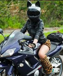 UNBROKEN Angelina Motorcycle Helmet Cat Ear DOT Full Face Racing AMT | eBay