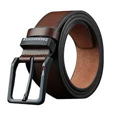 men s leather belt men s fashion belt high end business men s belt automatic