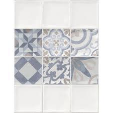 <b>Панель ПВХ</b> Плитка с декором 2700х375x8 мм, 1.013 м² в ...