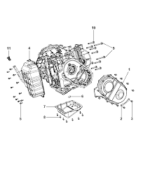 2014 dodge journey oil pan cover and related parts diagram i2303411