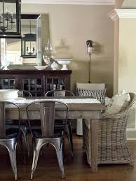 rustic metal dining chairs a mix of rustic metal chairs with wicker dining chairs pulled together
