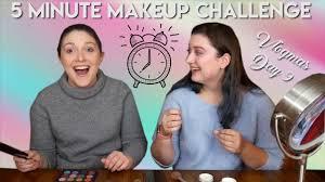 vlogmas day 9 5 minute makeup challenge