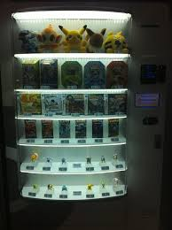 Pokemon Center Vending Machine Impressive Pokemon Center Vending Machine PocketmonstersNet