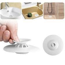 rubber kitchen bathroom sink strainer
