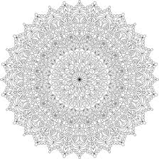 Small Picture Warm Soul Mandala Coloring Page By Varda K mondaymandala