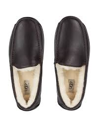 uggs ascot leather slippers