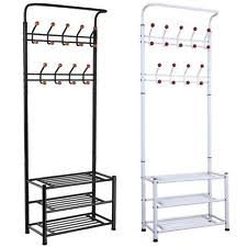 Coat Stand And Shoe Rack Chinkyboo Metal 100 Hanger Hooks Clothes Coat Stand Shoes Hats Bags 71