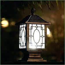solar exterior post lantern light lighting outdoor