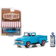 1954 Ford F-100 Pickup Truck Blue With Vintage Ford Motor Company ...