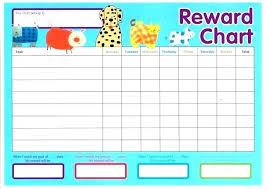 Printable Rewards Charts Free Printable Reward Charts For Kids Chart