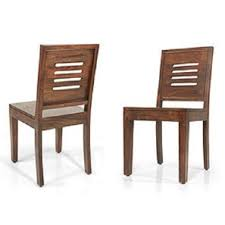 wooden chairs with arms. Wonderful Chairs Capra Dining Chairs  Set Of Two Teak Finish Intended Wooden With Arms B
