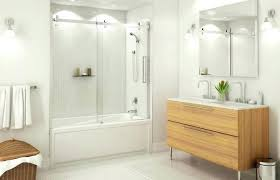 medium size of semi frameless bathtub shower door tub doors hinged glass bathrooms marvelous and
