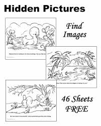 Printable word search puzzles covering a variety of topics, each containing a hidden message. Hidden Pictures Free And Printable