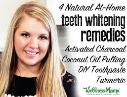 4 natural teeth whitening remes that work charcoal coconut oil toothpate turmeric
