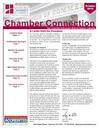 Scla Designation October 2018 Newsletter By Hanover Area Chamber Of Commerce