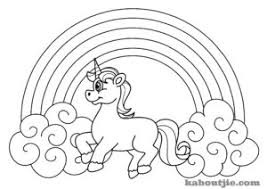 Free Printable Unicorn Coloring Page Kaboutjie