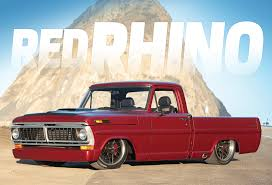 RED RHINO | 1970 Ford F-100 Classic Car Studio | Speed Is The New ...