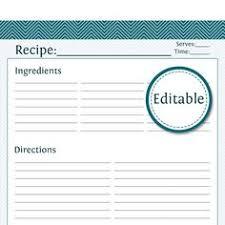 75 Best Recipe Template Images Cookbook Ideas Cookbook Template