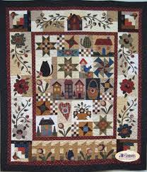 610 best Quilts - Samplers images on Pinterest | Quilt patterns ... & Country Rosewood Cottage Quilt Kit -Just got first month BOM. Adamdwight.com