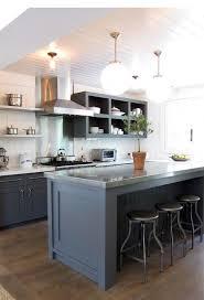 Kitchen Island Open Shelves Best 25 Stainless Steel Kitchen Shelves Ideas On Pinterest