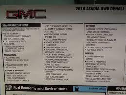 2018 gmc warranty. wonderful warranty 2018 gmc acadia awd denali  16704336 4 to gmc warranty