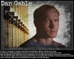 Dan Gable Quotes Classy Dan Gable Quote On PEDs