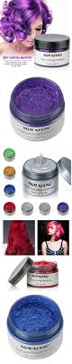 5 Colors Temporary Hair Dye Cream