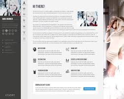 Joomla Resume Template Free Profiler vCard Resume Joomla Template by templaza ThemeForest 1