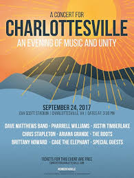 Livestream A Concert For Charlottesville Featuring