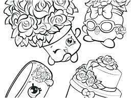 Shopkin Coloring Pages Season 8 Coloring Sheets To Print Pages