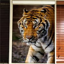 china arabic european indian style tiger animal design wooden blinds 3d printed blind blackout window curtain china blinds window blinds